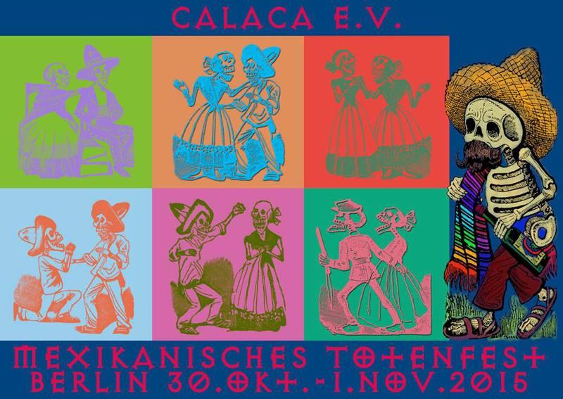 Neue Postkarten für día de muertos 30.11.2015-02.11.2015